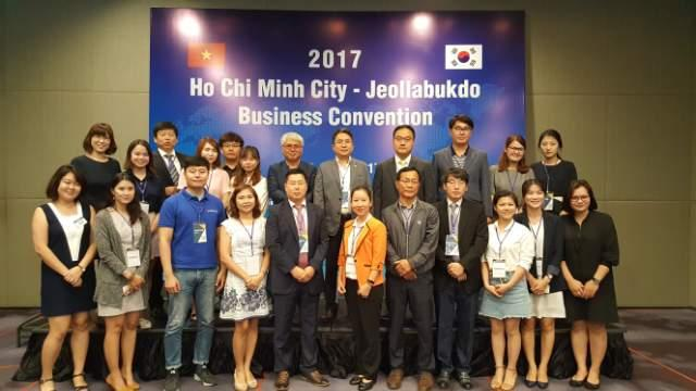 2017  Ho Chi Minh City Jeollabukdo Business convention -